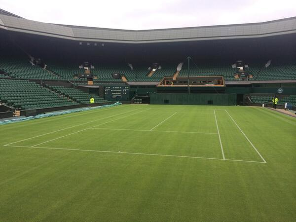Centre court DONE! #1ToGo http://t.co/q7wU7mnCw8