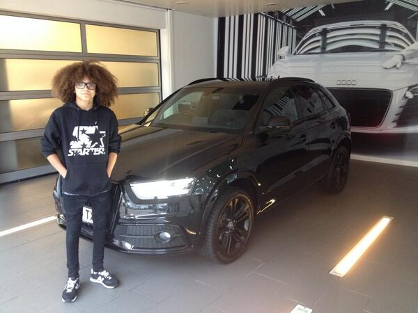 Jordan Banjo On Twitter SouthendAudi Collecting His New Audi - Audi car jordan