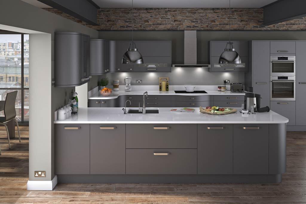 "Gloss Matt Wood Kitchen Finishes: DIY Kitchens On Twitter: ""The Innova Carrera Painted"