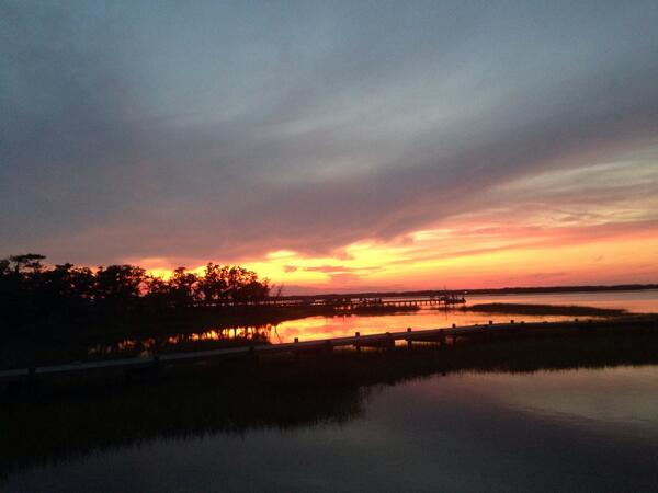 Photo of Emerald Isle, NC at Sunset