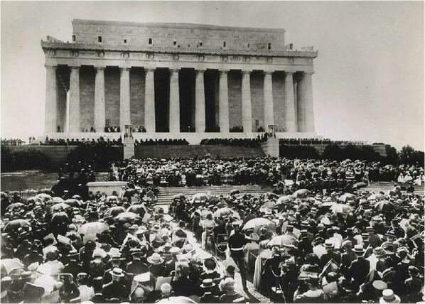 #OnThisDay in 1922, Chief Justice Taft dedicated the Lincoln Memorial #PJNET http://t.co/Cr17Oy0JiJ