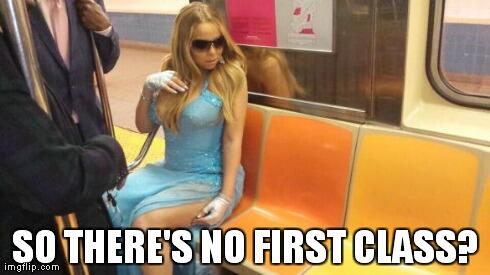 """@areyouentwise: Got to love @MariahCarey on the subway http://t.co/QPiI55VPck"""