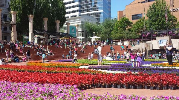 Portland, you're pretty awesome this time of year. http://t.co/XNPPCXy9a8