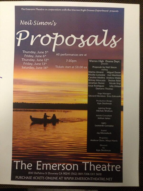 The Emerson Theatre Emersonwhs Twitter