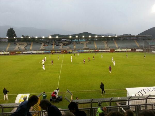 Moment during the game; photo: Simone Petrangeli
