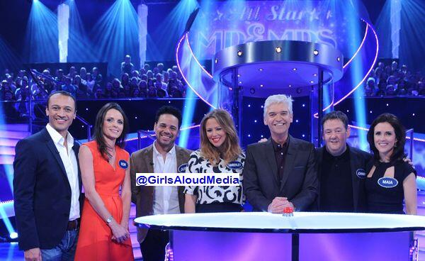 Kimberley Walsh and Justin Scott will appear on 'All Star Mr & Mrs' on Wednesday 18th June 2014 on ITV http://t.co/6nPjwrn6Kq