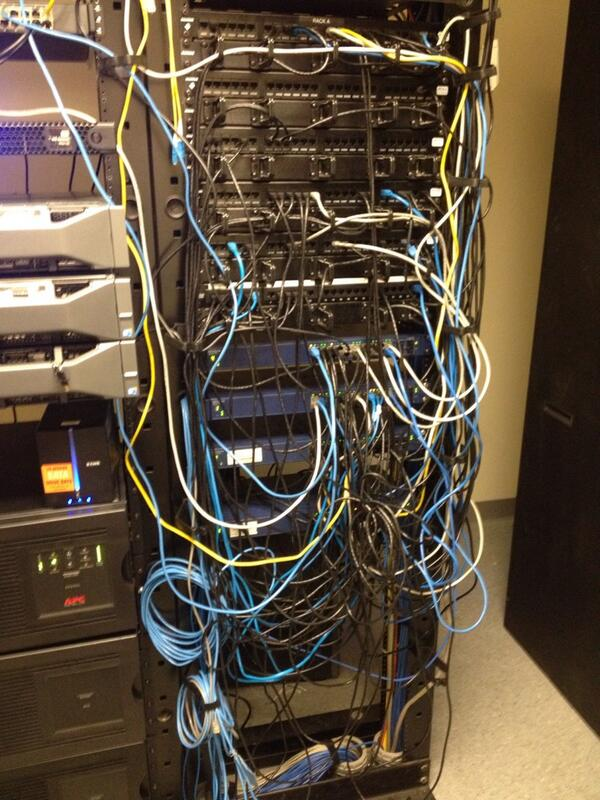 Miraculous Bridgecable On Twitter A Tad Bit Messy Network Cabling T Wiring 101 Mecadwellnesstrialsorg