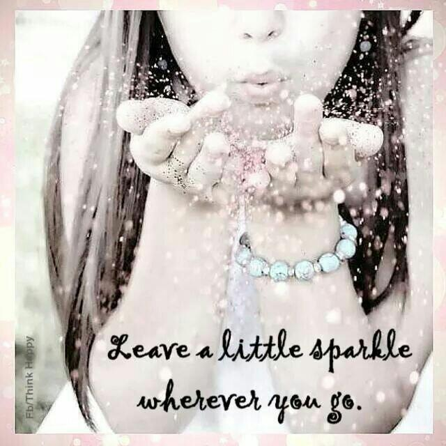 Twitter / PinkChocoCandy: Leave a little sparkle wherever ...