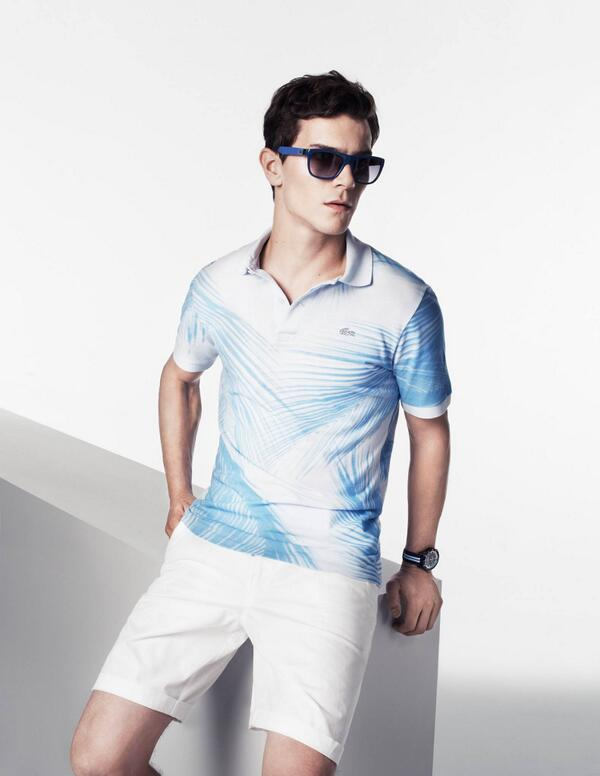 Inspired by the leisure and #beauty of our city, @Lacoste introduces the #MiamiPool collection. http://t.co/1dMCvhno0t