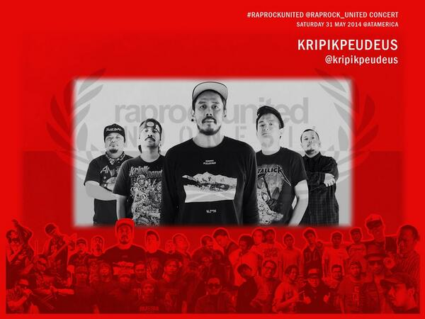 #Today @RAPROCK_UNITED #RRUCONCERT at @atamerica Pacific Place Mall, #JAKARTA 4pm - 8:30pm.FREE! with @kripikpeudeus http://t.co/2zgTV8Ys6O