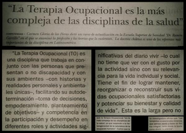 Terapia Ocupacional A Twitter At Cotog Alguien Se ánimo A