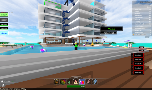 Roblox Pictures On Twitter Beach House Roleplay Update 30 Is
