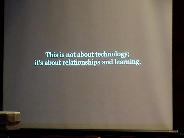 Great start to the day at Connecting in a Digital World @PeelSchools #eloGTA http://t.co/5xEEpzRnoI