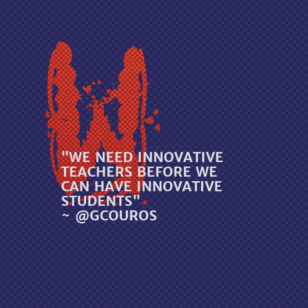 We need Teachers to become the innovators in Education #eloGTA #peel21st https://t.co/J0xZWDO5SB http://t.co/TJDDKqwOTh