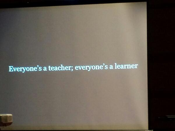Exactly what my crazy dad always told me - he was the best example of it #eloGTA http://t.co/gXB9aWs6c6