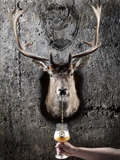 Ghost Deer will be on tap at 6pm! It's a ONE time, very special appearance... A bit like the queen coming to visit! http://t.co/O4EkKNxVlC