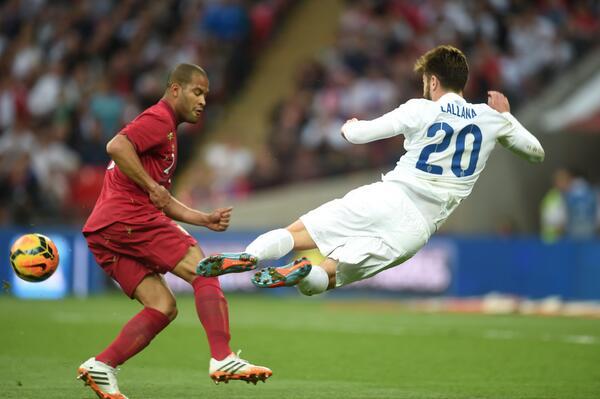 Liverpool target Adam Lallanas impressive performance for England v Peru [Individual Highlights]