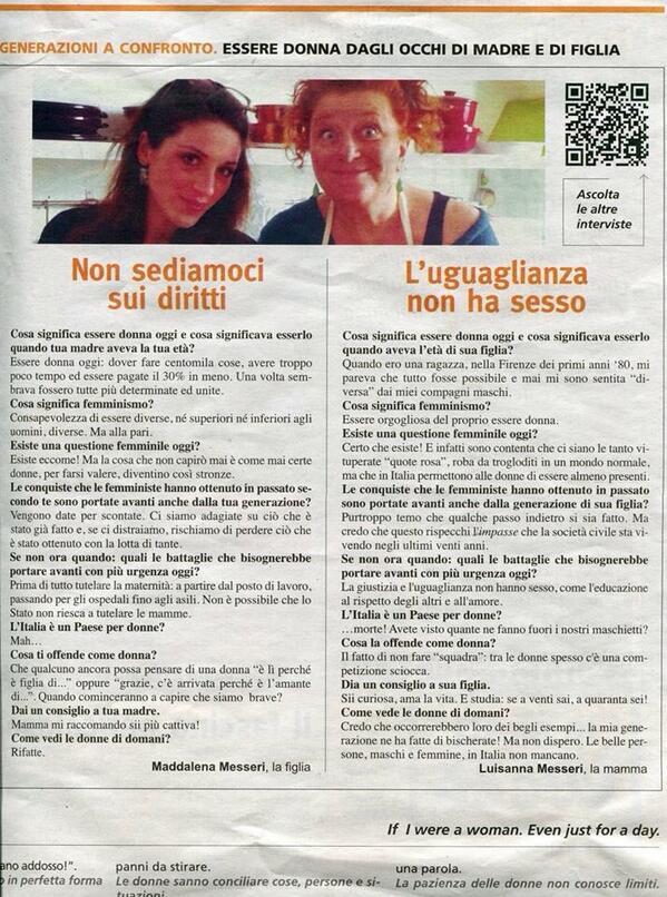 Maddalena Messeri On Twitter Intervista Doppia Con