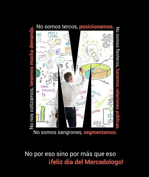 Por eso y por más ¡Felicidades mercadólogos! #DíaDelMercadólogo http://t.co/0EEjrpdbis