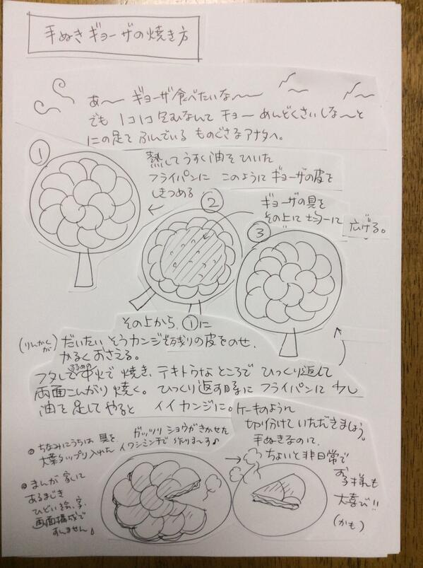 手抜きギョーザの焼き方 pic.twitter.com/exvc7m3BFR