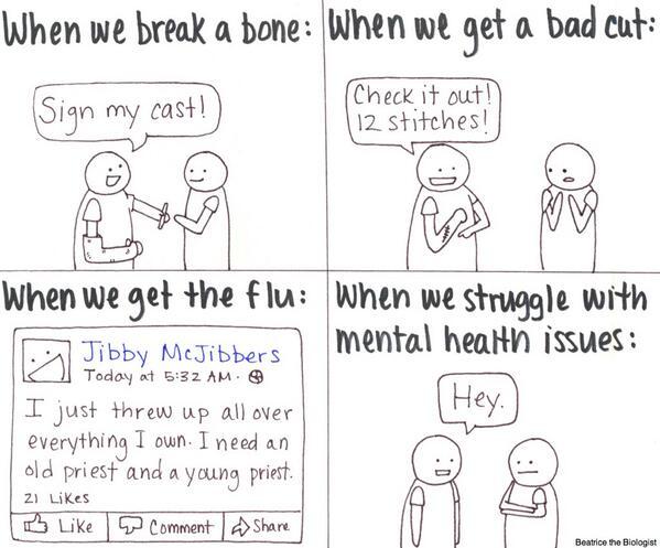 It's mental health month, ya know. #mentalhealth #anxiety #depression http://t.co/sTV8RR05f0
