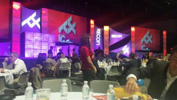 #CREW networking breakfast / #RECon14 http://t.co/KyhU0LqIav