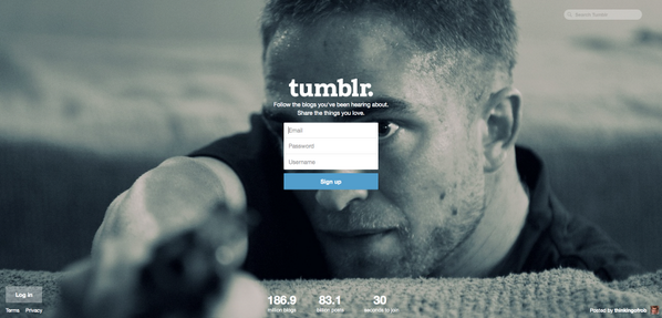 Robert Pattinson in The Rover featured on the Tumblr Home Page http://t.co/zN3F0U05ej