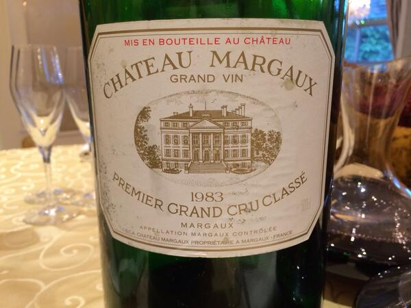 What is worse than a corked 83 Margaux? A corked 6 litre 83 Margaux