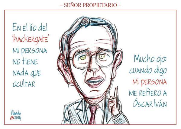 #Caricatura sobre el '#hackergate', por @VLADDO http://t.co/rOmVhkXyjF http://t.co/QKDjb4JXru