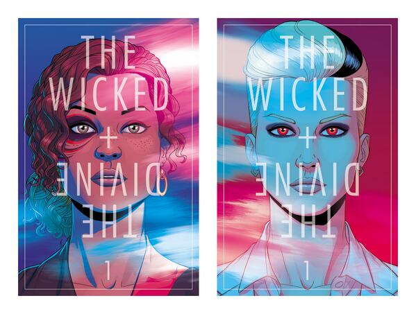 just read The WICKED AND THE DIVINE by @kierongillen and crew- IT'S GREAT so pre-order now support creator owned! http://t.co/v4TpF0X2vl