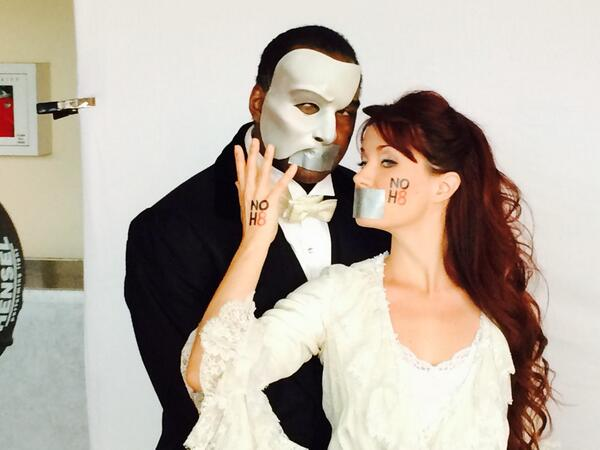 Just did our photo shoot for @NOH8Campaign with @normlewis777!!!! #NOH8 http://t.co/mkiZrq3gGt