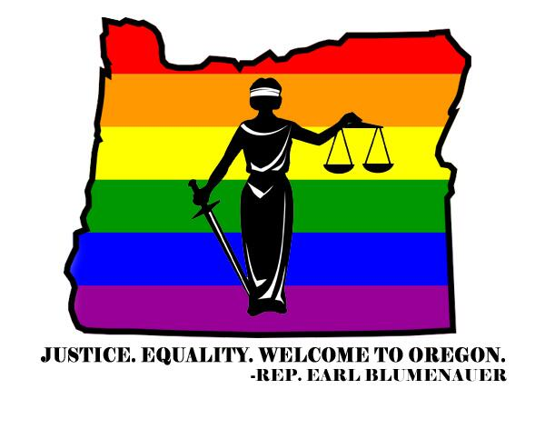 Oregon's same-sex marriage ban has been struck down! Equality has finally arrived! http://t.co/JjMpZLMrIj