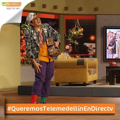 Todos deberían reír con @susoelpaspi en su show, por eso #QueremosTelemedellìnEnDirectv @DIRECTV @Telemedellin http://t.co/E1PCvMrQiW