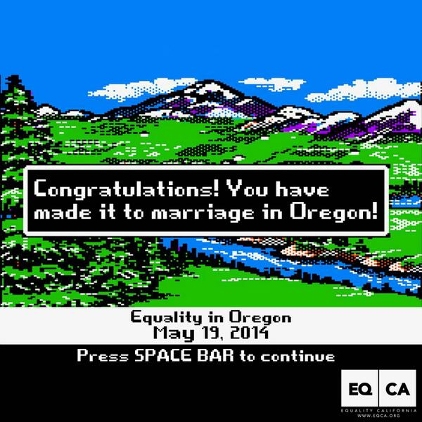 Congrats on getting to the end of the marriage trail, Oregon: http://t.co/k8WwkZ7Amv http://t.co/7eu2K8CHxw