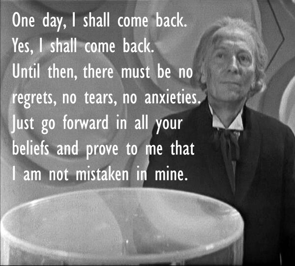 doctor who quotes en how to say goodbye first doctor in