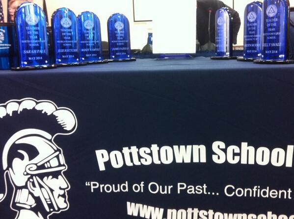 It's Teacher of the Year night @ #Pottstown School Board tonight. Follow along. http://t.co/GpLBv8pbdx