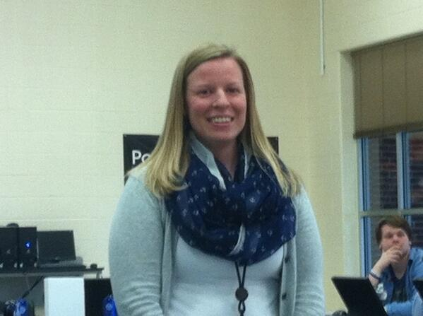 #Pottstown HS English teacher Helen Bower is Pottstown's Voices of Inspiration teacher in #Montco. http://t.co/ici2CbHY8s