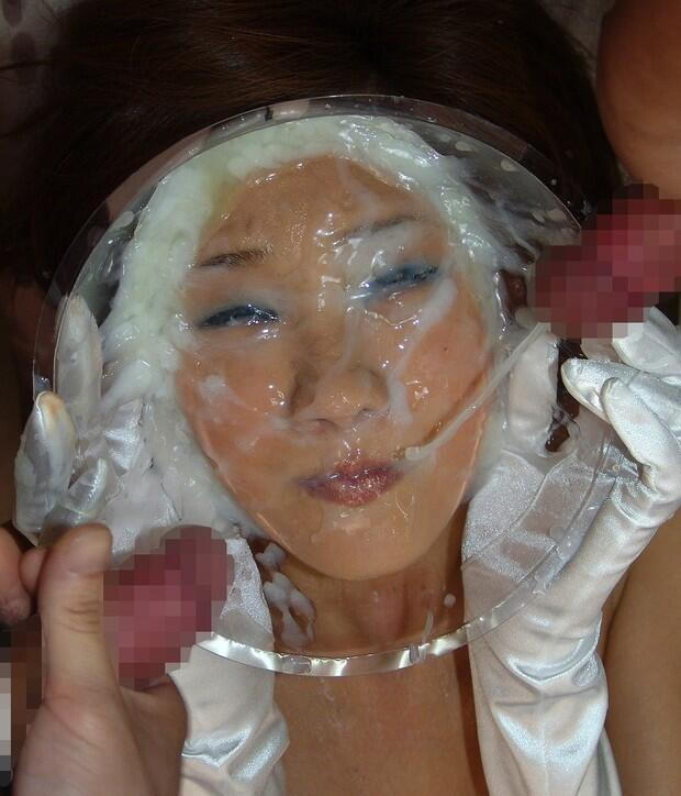 Opinion free asian bukkake facial porn pics something is