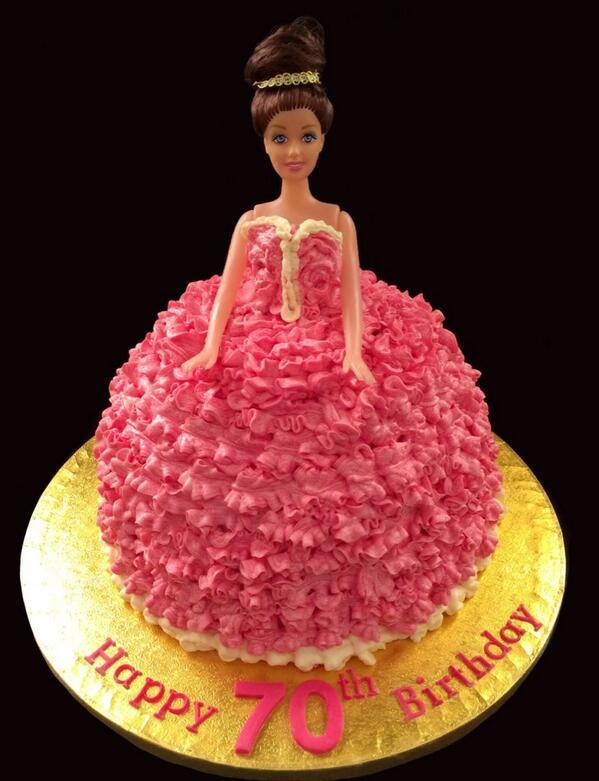 Cake and things on Twitter Madagascan vanilla sponge doll dress