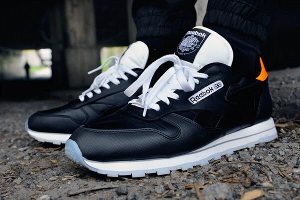 185c1c35786 caliroots teamed up with all out dubstep on the reebok classic leather  check it out here