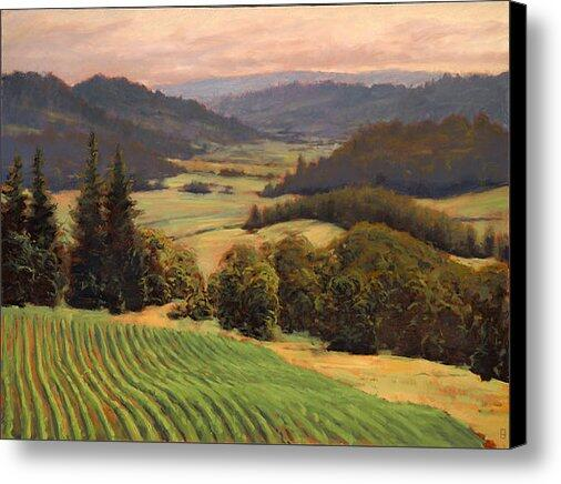 """New artwork for sale! - """"Youngberg Hill Vineyard"""" - http://t.co/ObDrBoXLq2 @fineartamerica http://t.co/w6kmAT7dLF"""