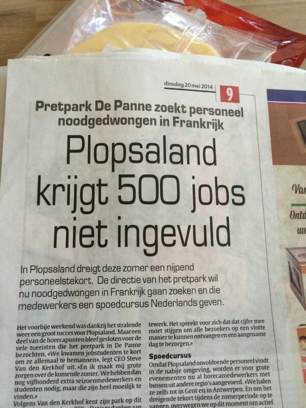 Iedereen maakt misbaar over BDW's uitspraken over werklozen, maar verderop in de krant dit... http://t.co/CutCAfBKfU http://t.co/vPA2udURaV