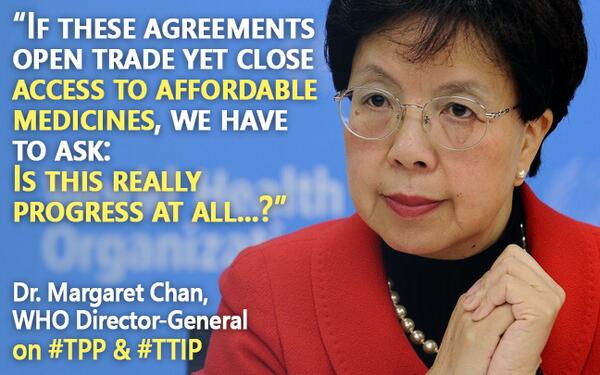 @WHO Director-General sounds alarm on #TPP #TTIP at #WHA67 @ifmsa @IFMSA_TG @AMSANational @yourAMSA @UAEM http://t.co/NGHqSht0K5