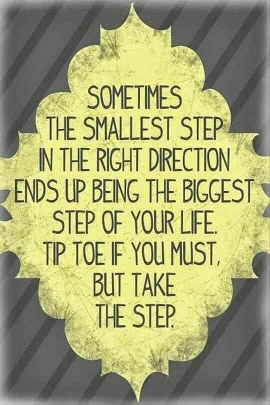 Tiptoe if you must... #inspiration #motivation http://t.co/ndx3JoXLJX