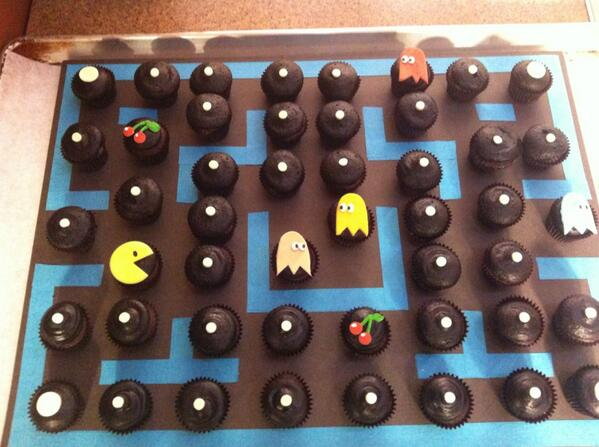 Good morning! Xo #ottawa #pacman #cupcakes #vegan http://t.co/59bvgkISkN