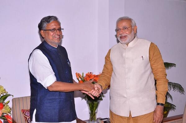 "Sushil Kumar Modi on Twitter: ""Met Narendra Modi today and ..."