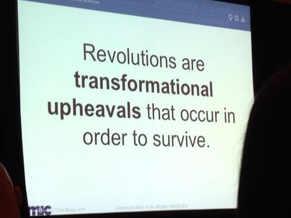 #amp14 talking 'bout a revolution. http://t.co/JixnLWLvDF