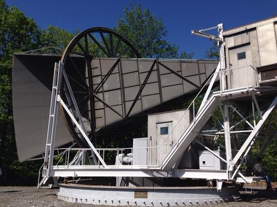 Today marks 50 years since this telescope discovered the #CMB light from the #BigBang. #BellLabs http://t.co/086b4ME6uP