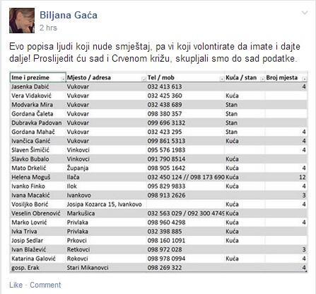 Dijeli #Vukovar #Srijem #poplave #smještaj http://t.co/JjpYFSR8El