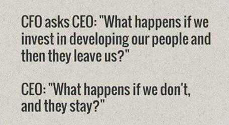 People leave managers, not companies. http://t.co/UYdiQ2RNbf